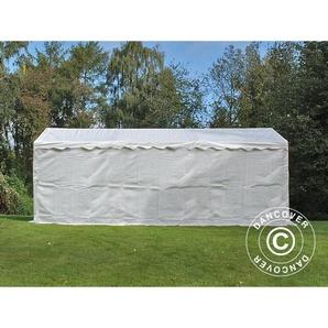 Tente de stockage Tente Abri Basic 2-en-1, 3x6m PE, blanc - DANCOVER