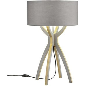 B-Leuchten Body - lampe à poser bois gris