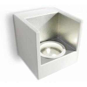 LEDINO-Applique LED Métal H9.5cm blanc argenté Philips