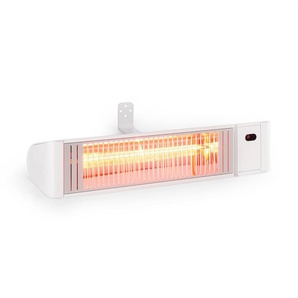 Blumfeldt Gold Fever Smart Chauffage rayonnant infrarouge 2000W Bluetooth blanc