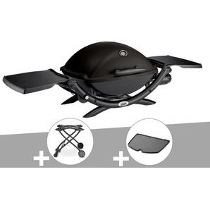 Barbecue à gaz Weber Q 2200 + Chariot + Plancha