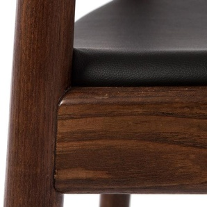 Wegner Chaise The Chair - Marron/Noir