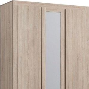 Armoire ton chêne 3 portes 2 tiroirs