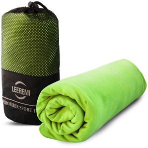 Serviette microfibre ultra compacte et absorbante - 65x90 cm, Vert