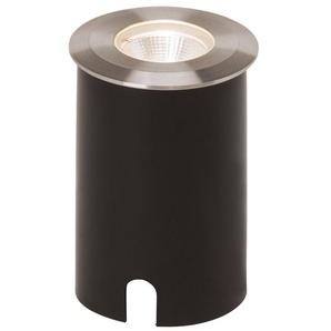 U-GROUND-Spot dextérieur LED à encastrer Acier brossé Ø8.8cm anthracite AEG