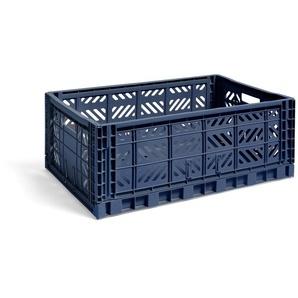 HAY Panier Colour Crate S  - navy - L