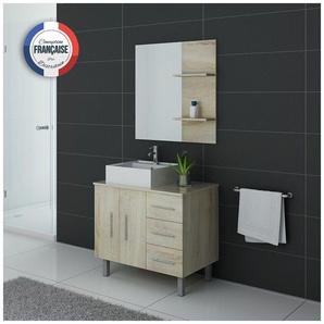 Meuble de salle de bain FLORENCE Scandinave - DISTRIBAIN