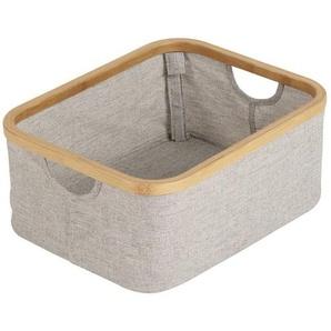 Quax Panier en Coton et Bambou - Petit