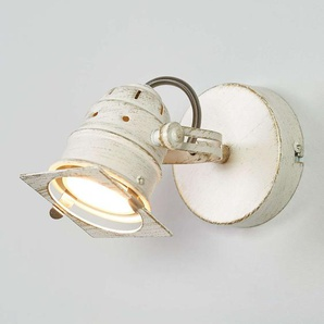 Spot LED Janek blanc, avec ampoule GU10