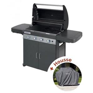 Pack Barbecue à gaz Campingaz CLASS 4 LD PLUS + housse