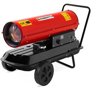 30 kW Canon à Air chaud Diesel (Châssis, Protection contre Surchauffe, Sécurité de brûleur électronique, Thermostat intégré) Appareil de chauffage - EBERTH