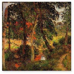 DIYthinker Paysage Peinture à lhuile Paul Gauguin célèbre Huile écoles de limpressionnisme panintings huiles céramique Carreaux Bisque Grand