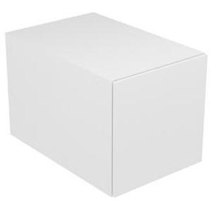 Keuco Edition 11 Module élément bas 31310, 1 tiroir à casseroles, 350 x 350 x 350 x 535 mm, Corps/Avant: Blanc laqué brillant / Blanc laqué brillant - 31310210000 - KEUCO GMBH & CO. KG