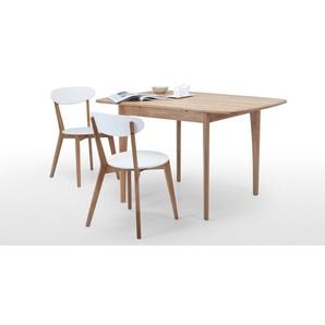 Monty, table extensible 2 à 4 personnes, chêne