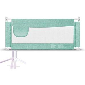 MY1MEY Bed Railsing Filet de sécurité pour Enfants Bed Railsing Berceau Grille-lit lit pour Enfants lit incassable 5 Taille - Vert (120cm)
