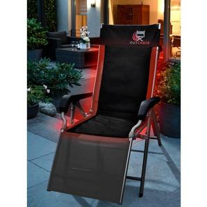 Outchair GmbH Coussin de chaise chauffant ou Chaise chauffante pliable, Coussin de chaise chauffant