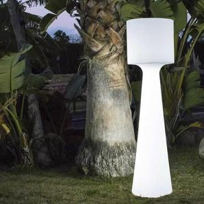 GRACE-Lampadaire dextérieur H140cm Blanc New Garden