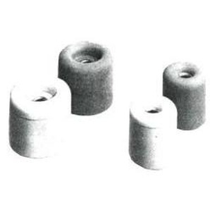 Butoir de porte Nr.24 blanc 30X26mm (Par 50) - PRESTIEN & KNUPPEL