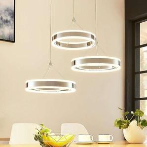Suspension LED Lyani, 3 anneaux
