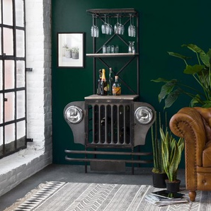 Bar industriel jeep noir