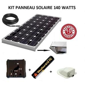 Antarion Kit panneau solaire 150w monocristallin pour camping car