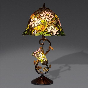 Lampe de table floral cm 74x41x41 Artedalmondo GF16313
