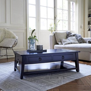 Table basse en bois de java 100x60 Thaki black