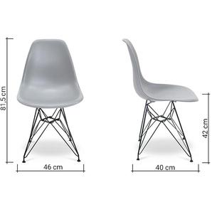 Chaise DSR - Gris clair