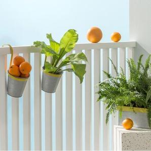 Essentials – Nic, jardinière 3 pots, vert pomme