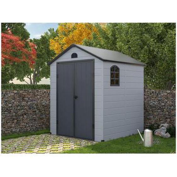 Abri de jardin en résine gris CESIO - 3,65m²