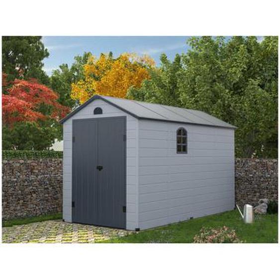 Abri de jardin en résine gris CESIO - 6,99m²