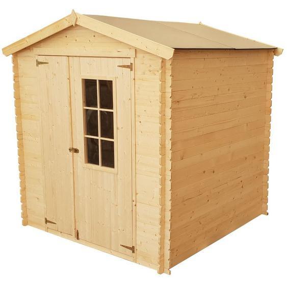 Abri en bois CALYPSO + Toit en polypropylène - 4 m² - CHALET & JARDIN