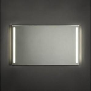 Adema Squared Miroir salle de bain 120x70cm avec éclairage LED gauche et droite avec chauffage et interrupteur capteur NAA002-N45A-120