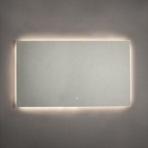 Adema Squared Miroir salle de bain 120x70cm avec éclairage LED indirect et interrupteur capteur JG2112-12070