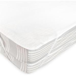 Alèse plate imperméable 160x200 cm ARNON molleton 100% coton contrecollé polyuréthane