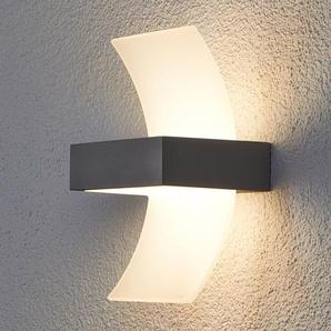 Applique dextérieur LED Skadi courbée