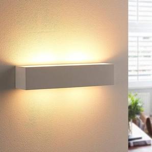 Applique murale en plâtre Tjada à ampoule LED G9