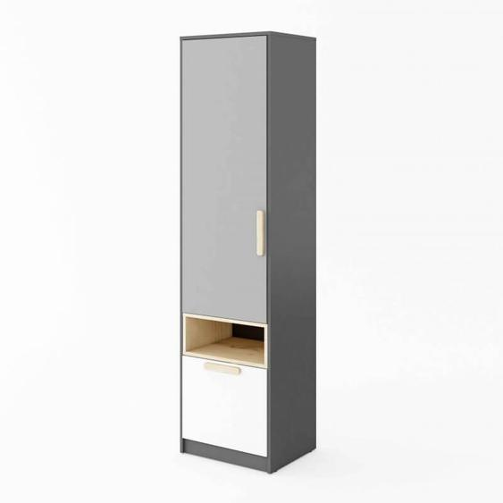 Armoire simple POK enfant - Gris