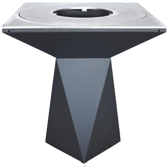 Artiss Design - Brasero Artiss G1 Graphite plaque acier carbone