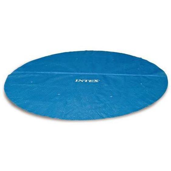 Intex bâche a bulles diam 4,70m pour piscine diam 4,88m