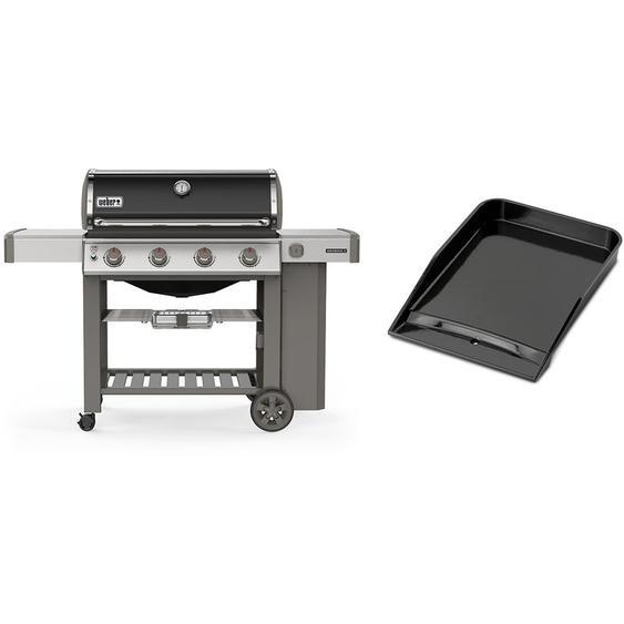 Barbecue gaz Weber Genesis II E-410 GBS Noir + Plancha