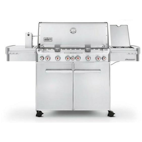 Barbecue Weber à Gaz Summit S-670 Inox Réf. 7370029
