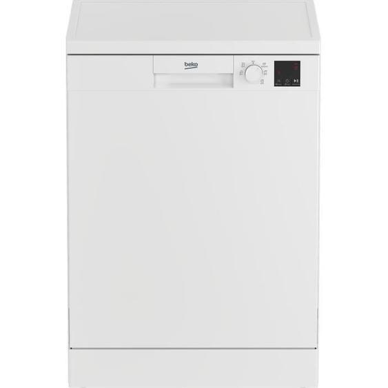 Lave-vaisselle pose libre BEKO LVV4729W - 14 couverts - Classe A++ - 47dB - Blanc