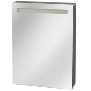 Best Design Aluma Armoire de toilette 60x80x13.5cm avec éclairage LED et softclose Aluminium 3803660