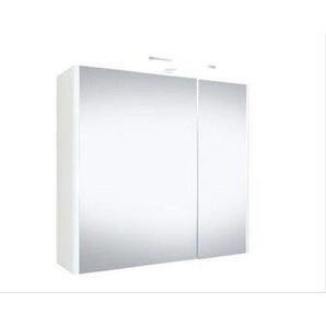 Best Design Happy Armoire de toilette avec éclairage 60x60cm MDF 4002840