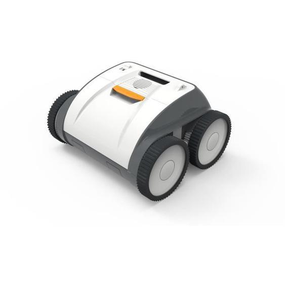 BESTWAY Robot sans fil Ruby électrique à batterie pour piscine, 3 moteurs fond et parois et ligne deau