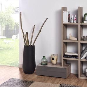 Bibliothèque réversible + meuble bas Denver