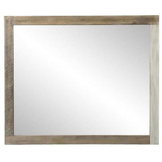 BLANCHE Miroir - Acacia massif - 120 x 3 x 100 cm