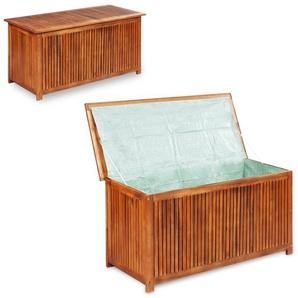 Boîte de rangement de jardin 117x50x58 cm Bois dacacia solide