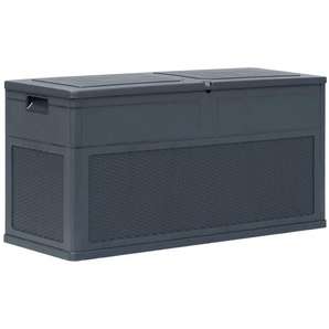 Boîte de rangement de jardin 320 L Anthracite